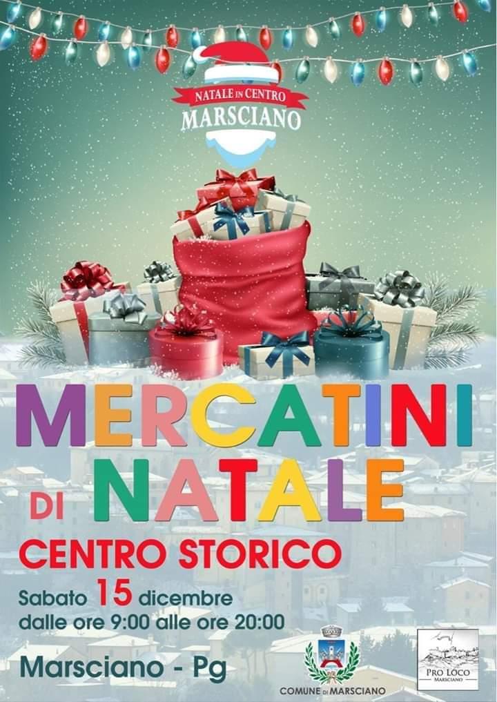 MERCATINO DI NATALE DI MARSCIANO @ Marsciano (PG)